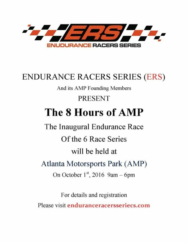 ERS FLYER 791x1024 - 1 October 2016 - Endurance Racers Series