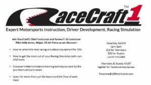 racecraft 1 300x169 - April 8, 2017- RaceCraft1 Simulation