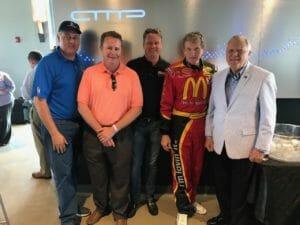 Georgia Governor Nathan Deal, State Senator Steve Gooch, State Representative Kevin Tanner, NASCAR Bill Elliott