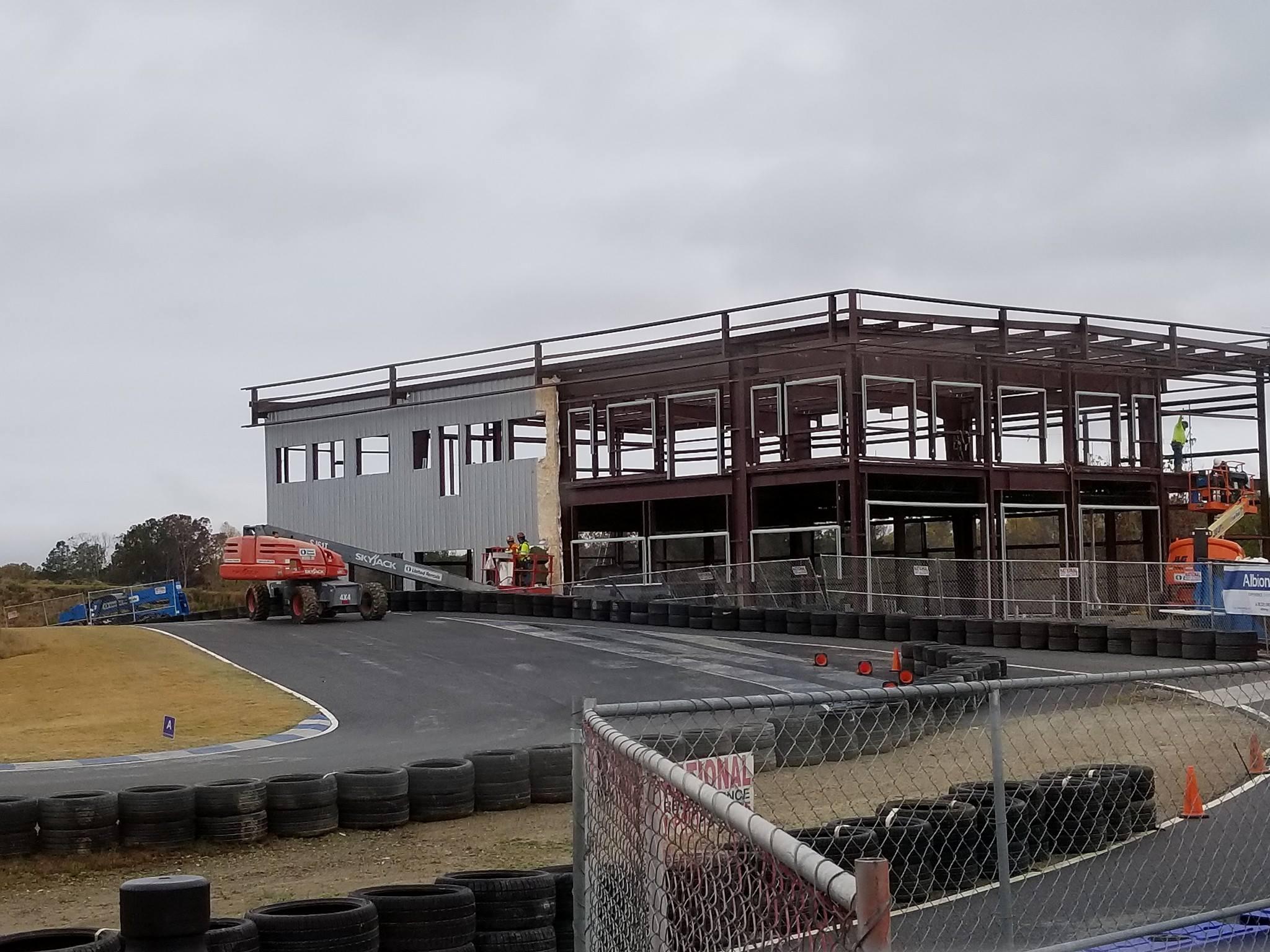 AMP Kart Racing Centre Construction Progress Update