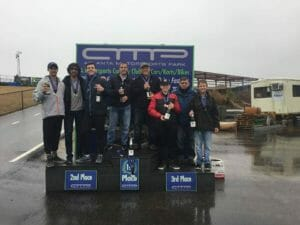 27972427 1880998445544465 348284670759858191 n 300x225 - Twenty five teams completed a rainy four hour endurance race at AMP Kart Racing