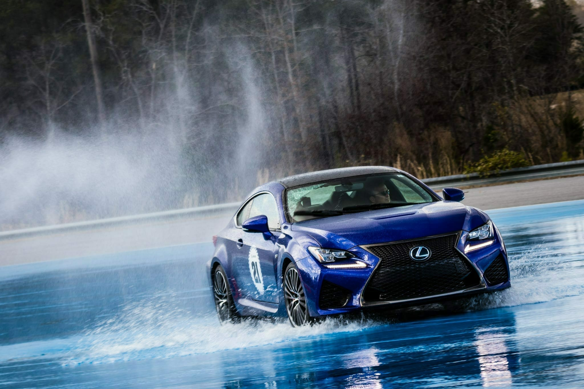 Lexus Performance Driving School selects AMP as one of two track locations for 2018