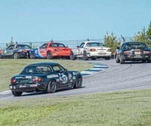 Raceday miatas smol 300x251 - 2020 Club Racing Schedule and Updates