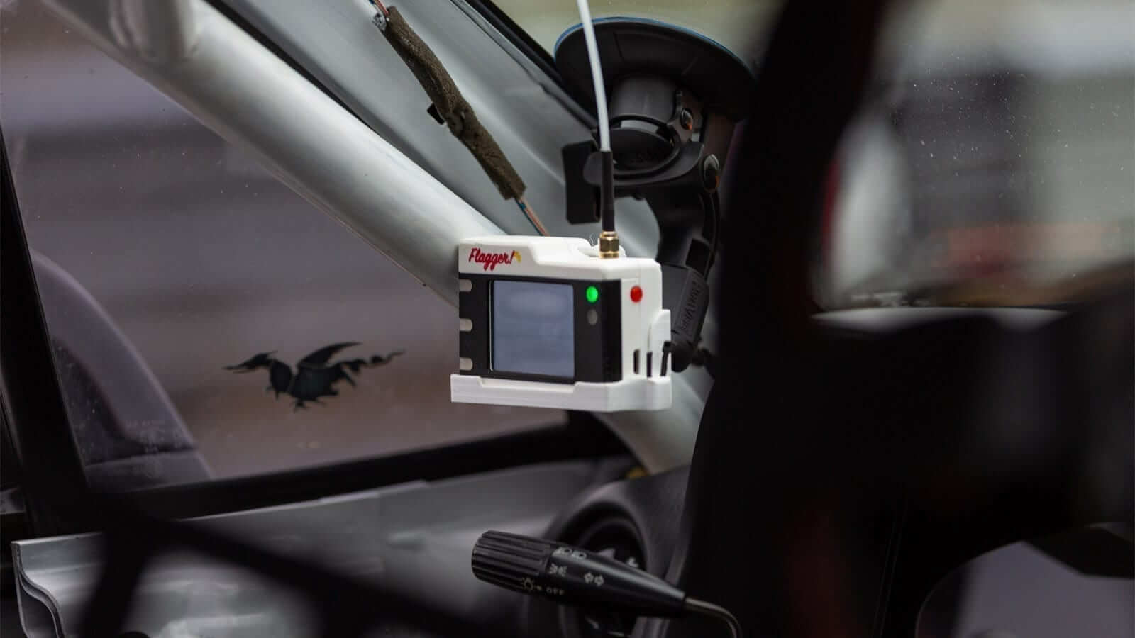 flagger web1 - Flagger In-Car Alert System