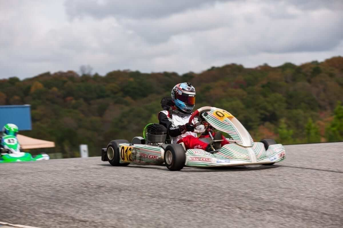 oliver oct race day - October Karting Race Day Review