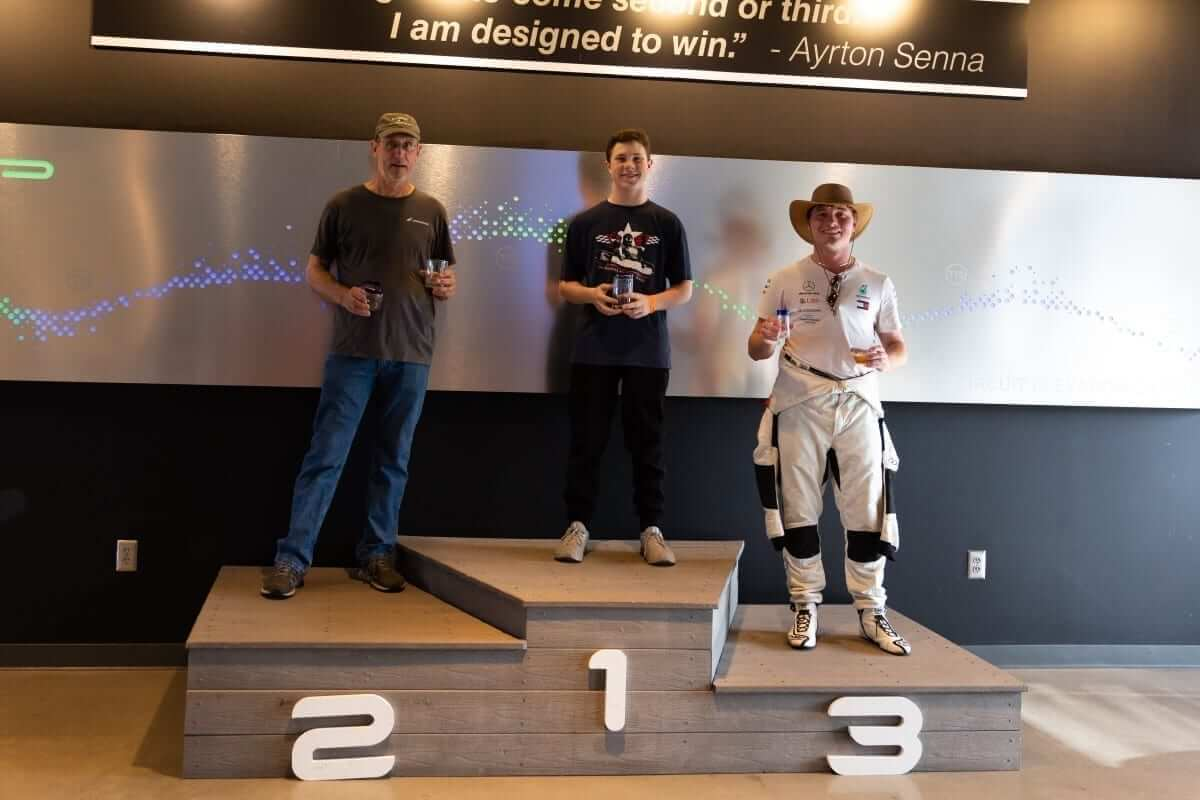 raiden podium - AMP Summer Series Race One Report