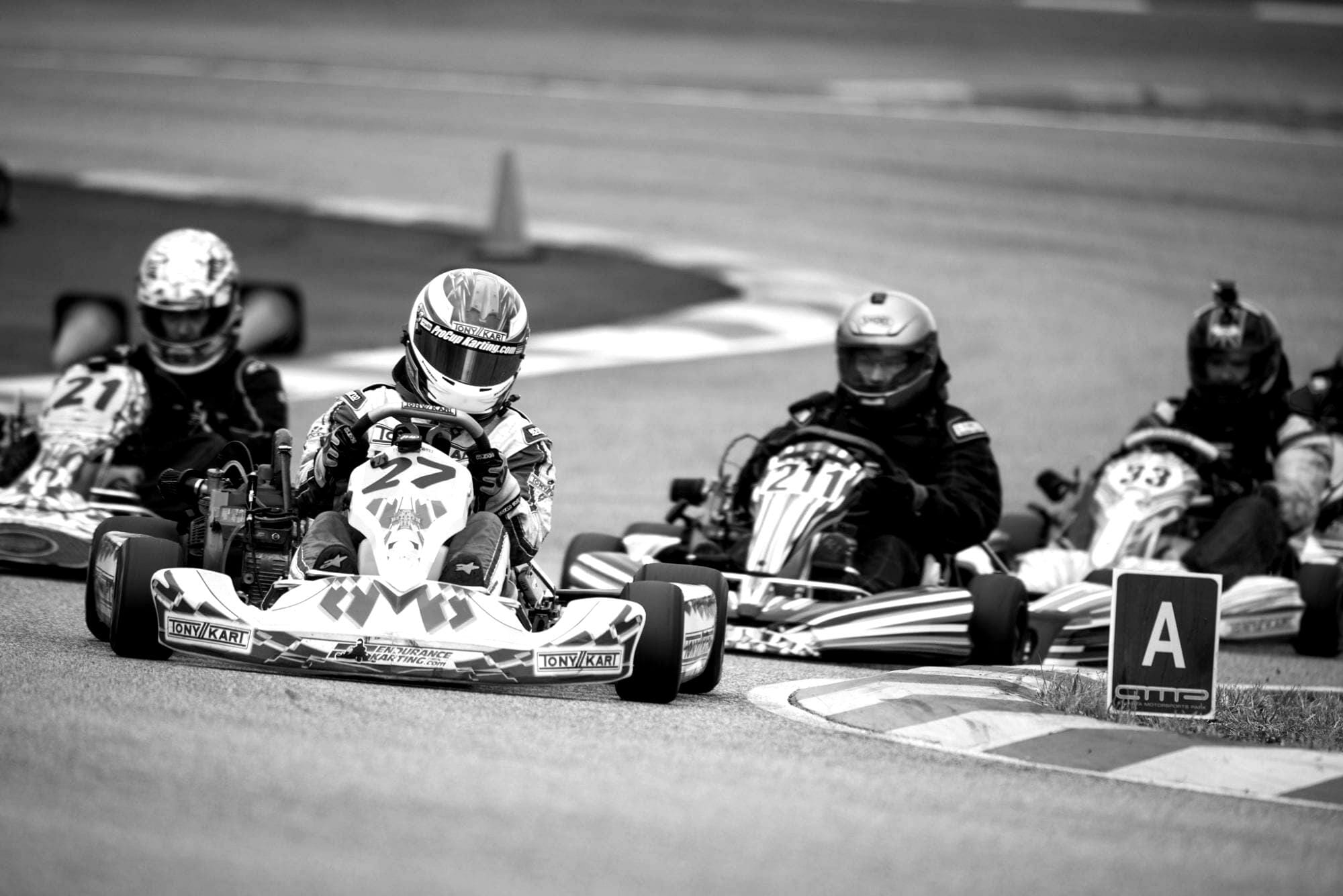 karting facebook for march 19 race 1 blackwhite 1 - Race Series