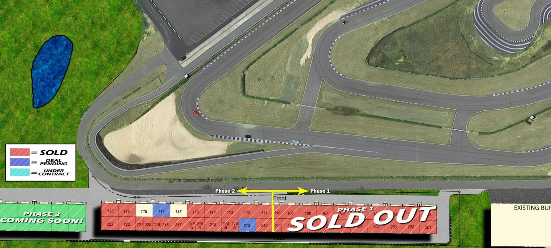 track render green41 - Track Side Condos